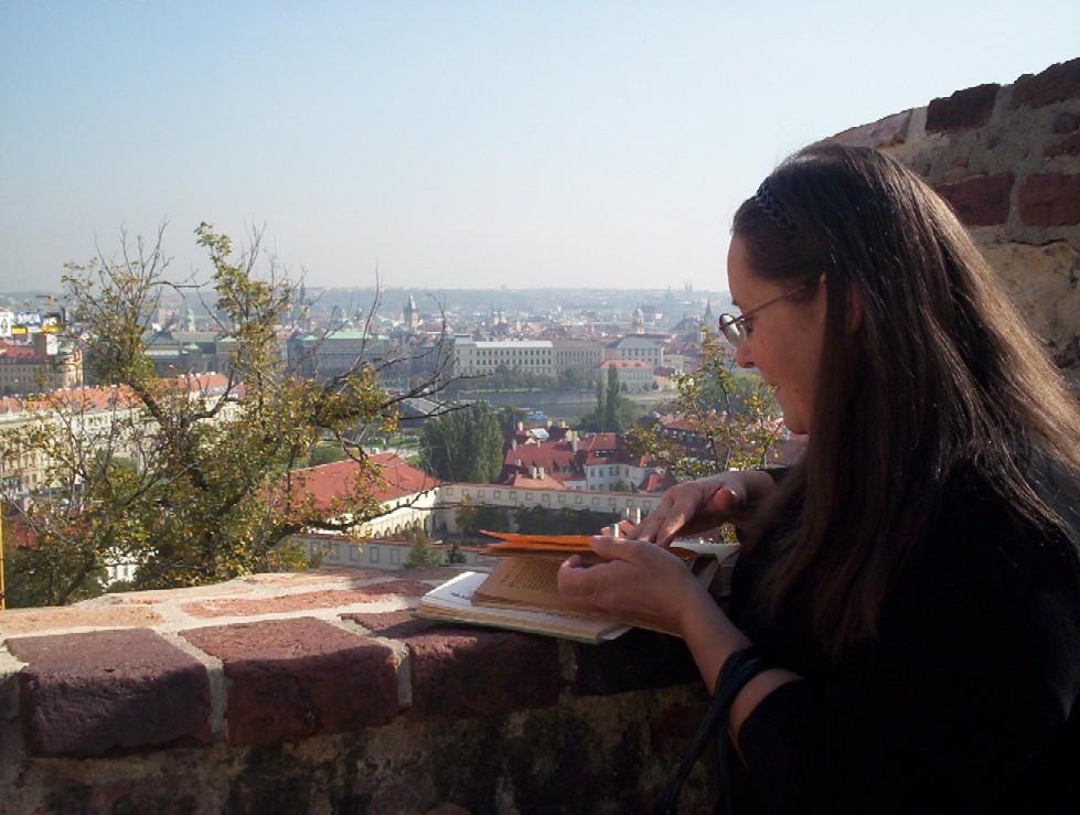 Františka Vrbenská, kniha a Praha jako na dlani