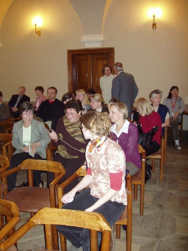 Účastníci přednášky