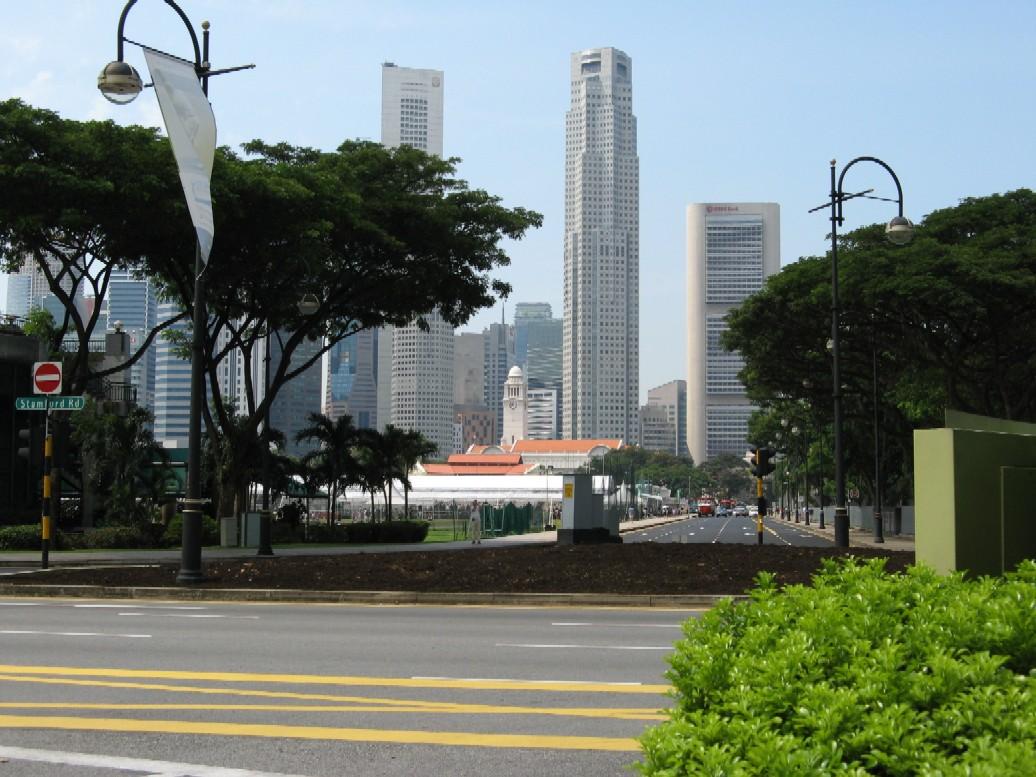 Singapur – město mrakodrapů