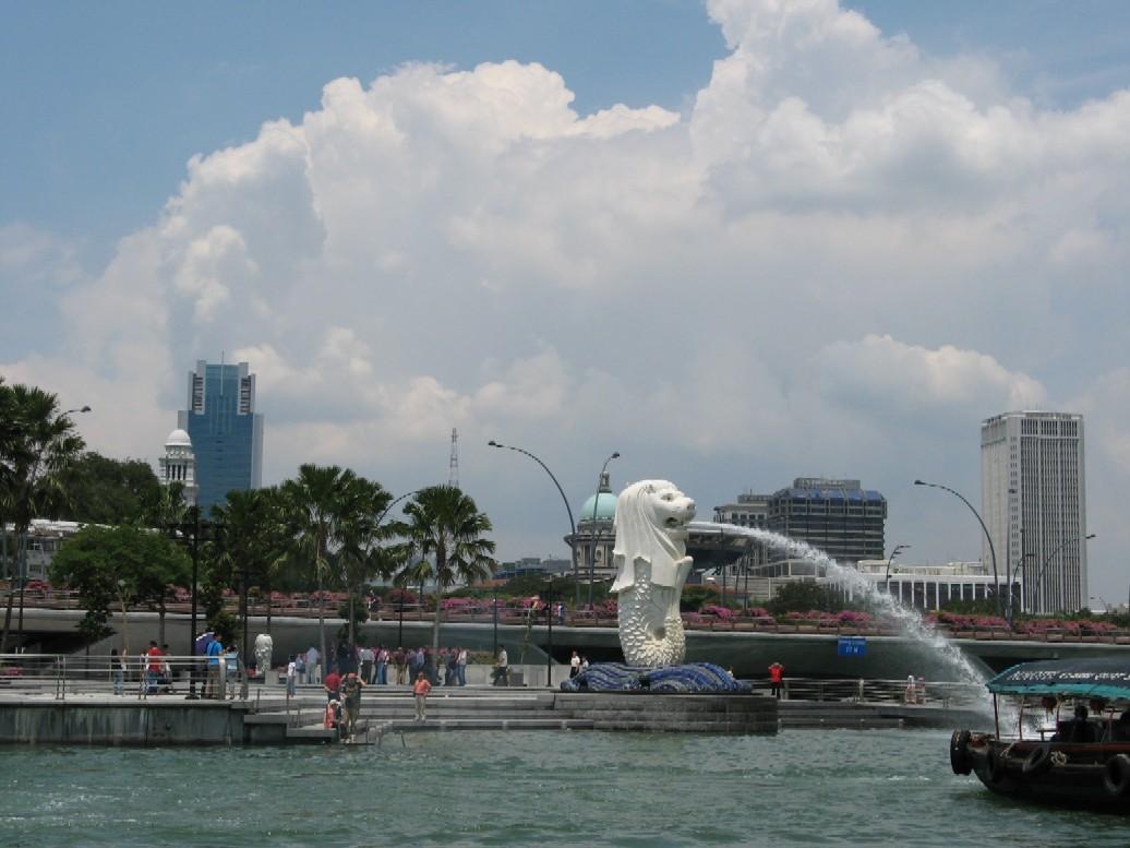 Socha Merliona – symbolu Singapuru