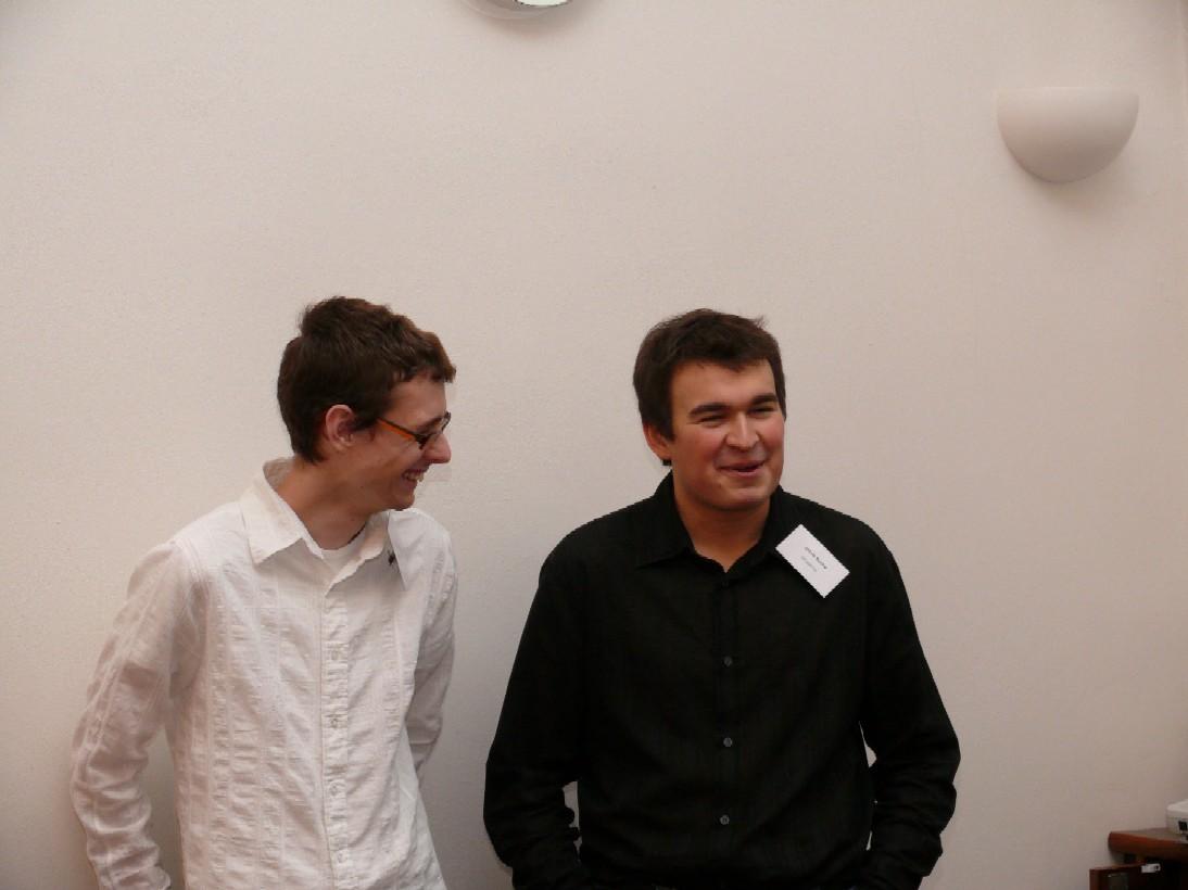Filip Molčan (OSS Alliance) a Jakub Suchý (Drupal CZ)