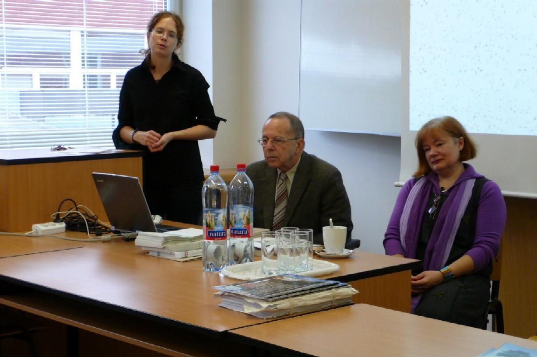 Zleva: Blanka Vorlíčková, Richard Khel a Kateřina Řezáčová