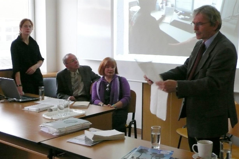 Zleva: Blanka Vorlíčková, Richard Khel, Kateřina Řezáčová a Miloš Lešikar