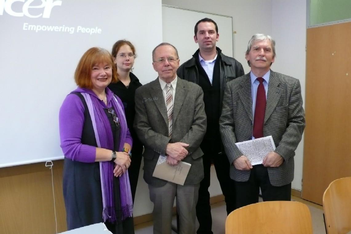 Zleva: Kateřina Řezáčová, Blanka Vorlíčková, Richard Khel, Jiří Polach a Miloš Lešikar