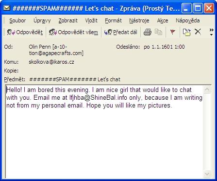 E-mail z alžběžinské Anglie