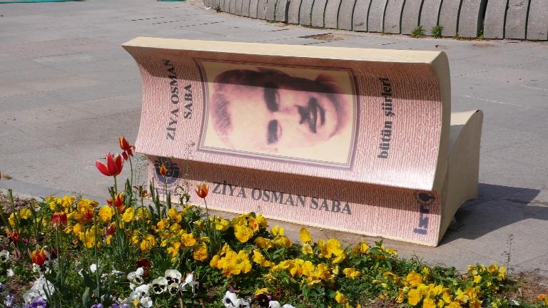 Istanbulská knižní lavička