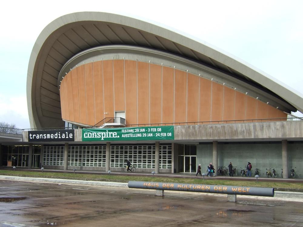 House of World Cultures, kde se Transmediale konalo
