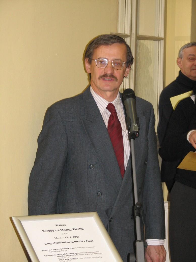 Doc. RNDr. Jiří Zima, CSc., proděkan PřF UK