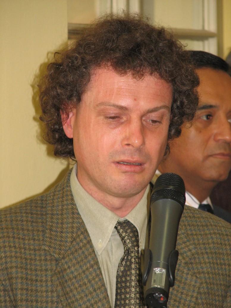Doc. Mgr. Richard Přikryl, Dr., koordinátor Roku planety Země