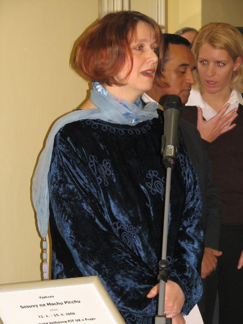 Mgr. et Mgr. Eva Novotná, autorka scénáře výstavy a její realizace