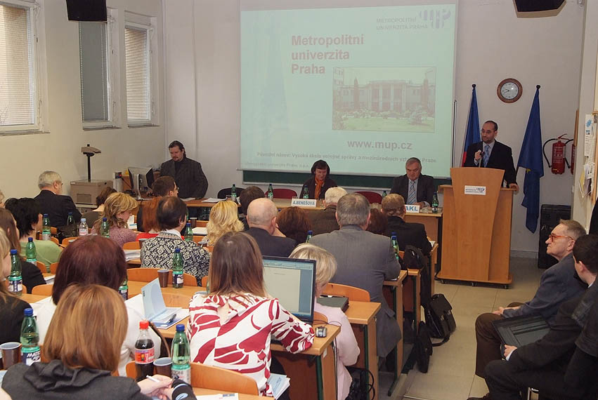 Prof. PhDr. Michal Klíma, M.A. CSc., rektor Metropolitní univerzity Praha, o.p.s.