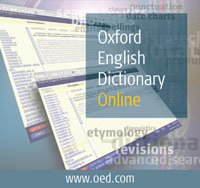 Oxford English Dictionary logo