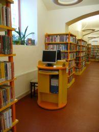 Počítač s přístupem do elektronického katalogu