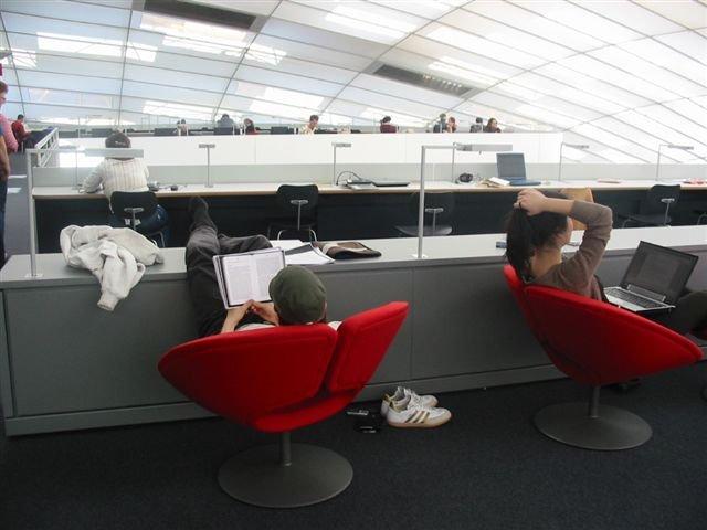 Filologická knihovna (Philologische Bibliothek), Freie Universität Berlin