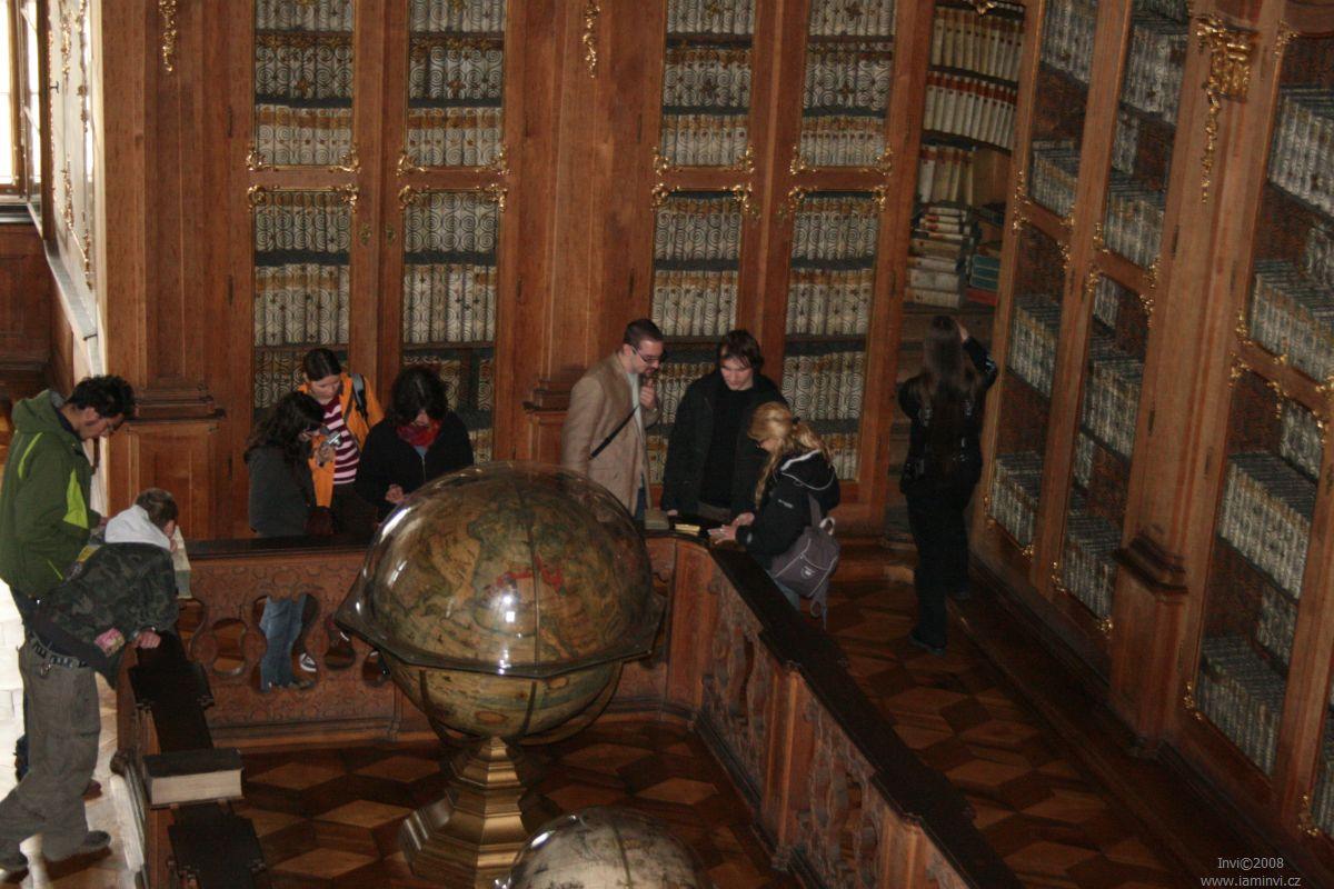 Hlavní sál – pohled z galerie; autor fotografie: T. Holešínská