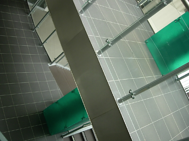 Atraktivní interiéry budovy Centra; autor fotografie: Marie Pazderová