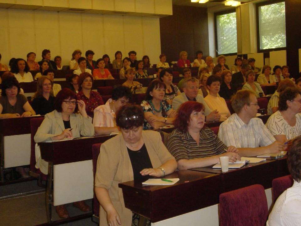 Pohľad na účastníkov seminára dňa 5. 6. 2008