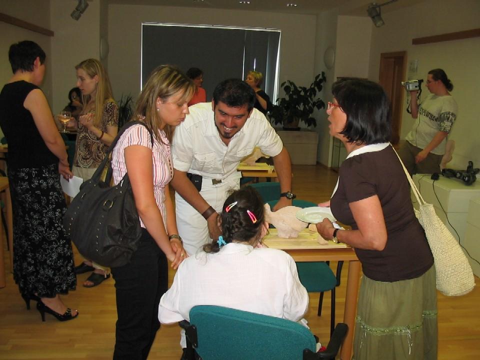 Půjčovna pro dospělé ústředí KMO - vernisáž výstavy Davida Treviňo Escobeda