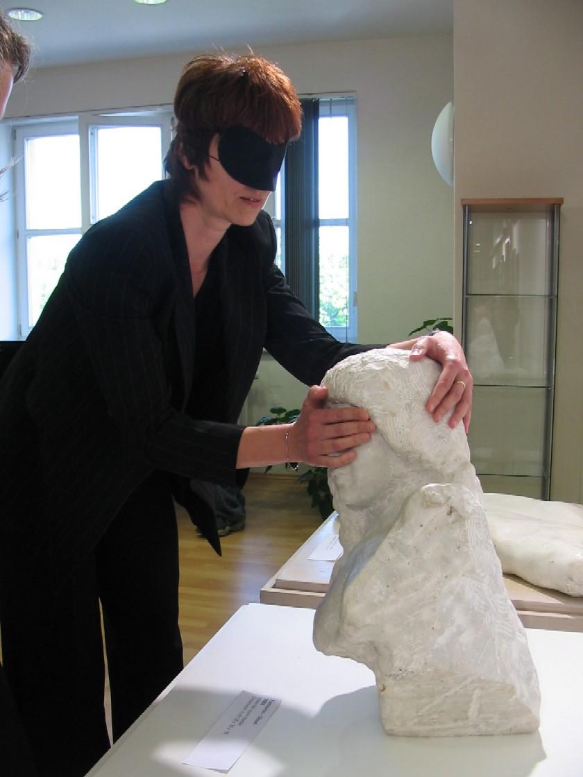 Půjčovna pro dospělé ústředí KMO - Dny umění nevidomých