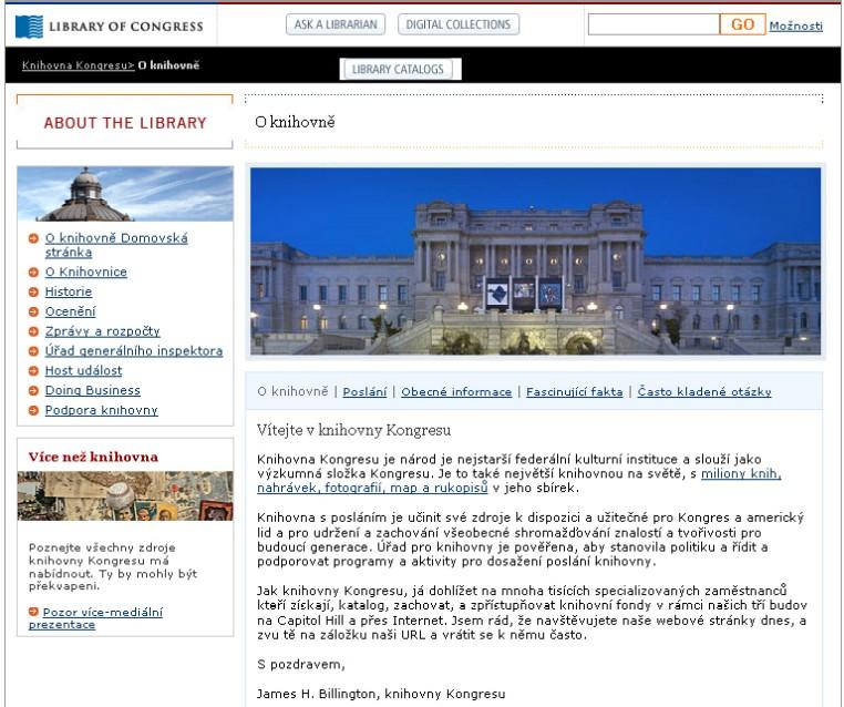 Obr. 5: Náhled přeložené webové stránka pomocí Google Překladače