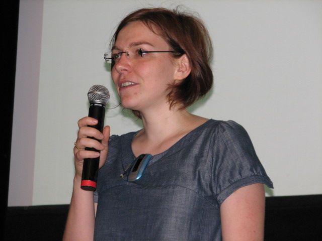 Alena Černá, moderátorka programu a zároveň koordinátorka konference