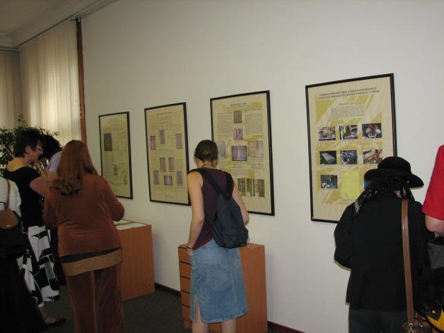 Prohlídka výstavy vzácných tisků