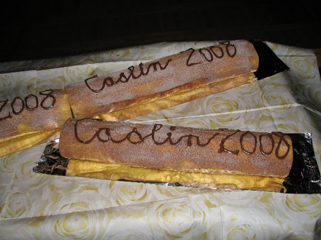 Dort na oslavu patnáctin CASLINu