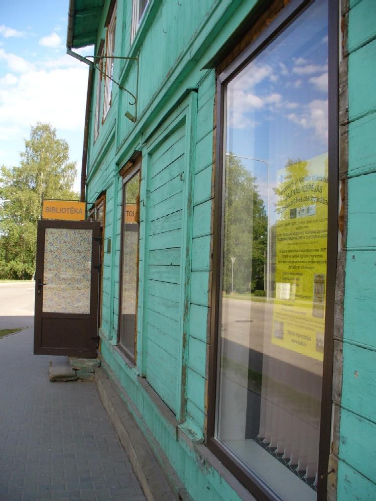 Knihovna v lotyšském městečku Strenči
