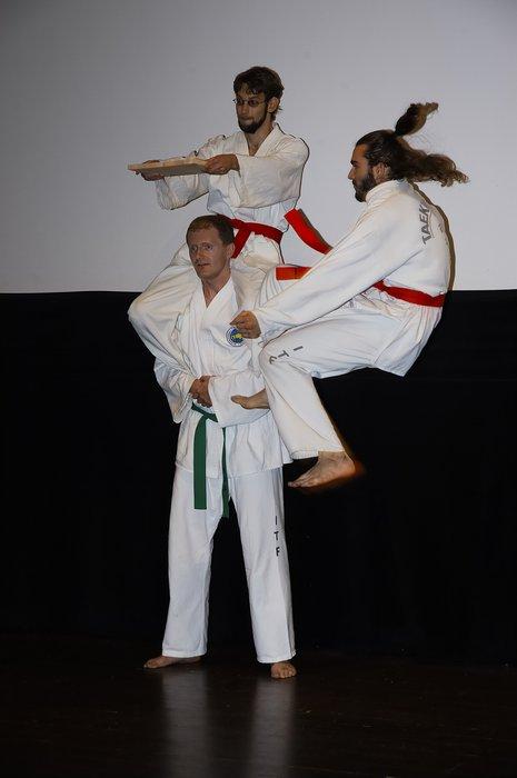 Ukázky bojového umění taekwondo