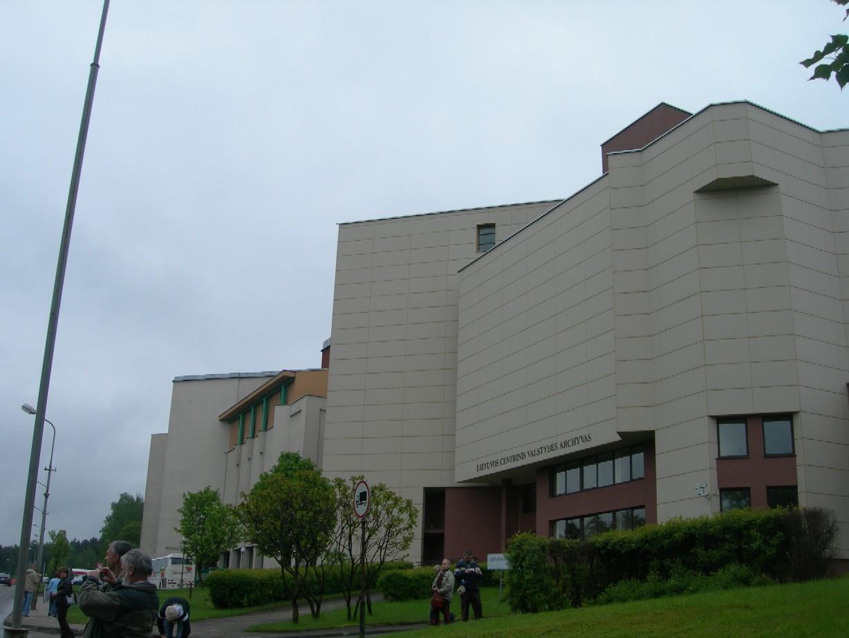 Budovy Národního archivu Litvy ve Vilniusu
