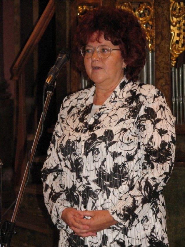 Marie Mudrová, vedoucí odborné poroty pro kategorii základní knihovna