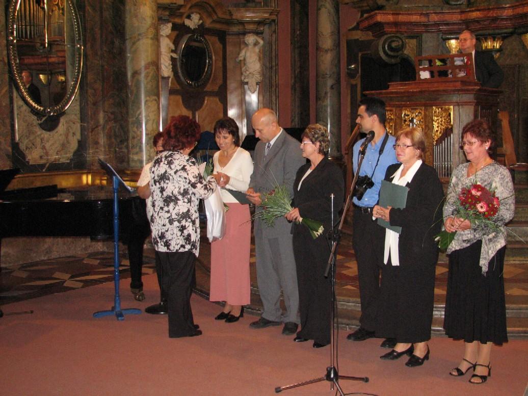 Z předávání cen v kategorii základní knihovna – zúčastnili se i vítězové krajských kol
