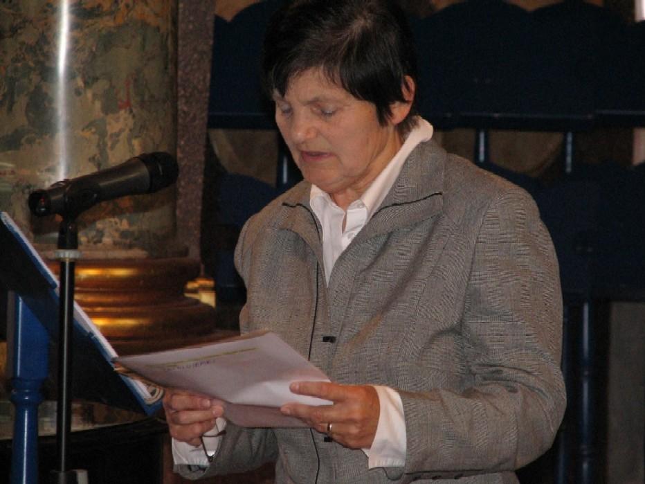 Jiřina Kádnerová, vedoucí odborné poroty pro kategorii informační počin