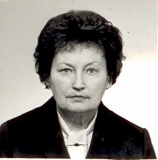 E. Sošková v prosinci 1988…
