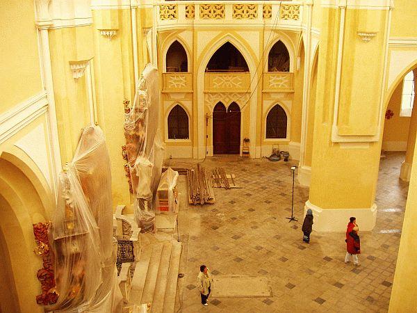 Sedlecká katedrála v rekonstrukci