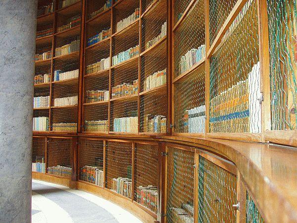 Knihovna na zámku Kačina