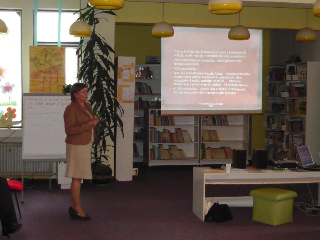 PhDr. Judita Kopáčiková, Staromestská knižnice v Bratislave