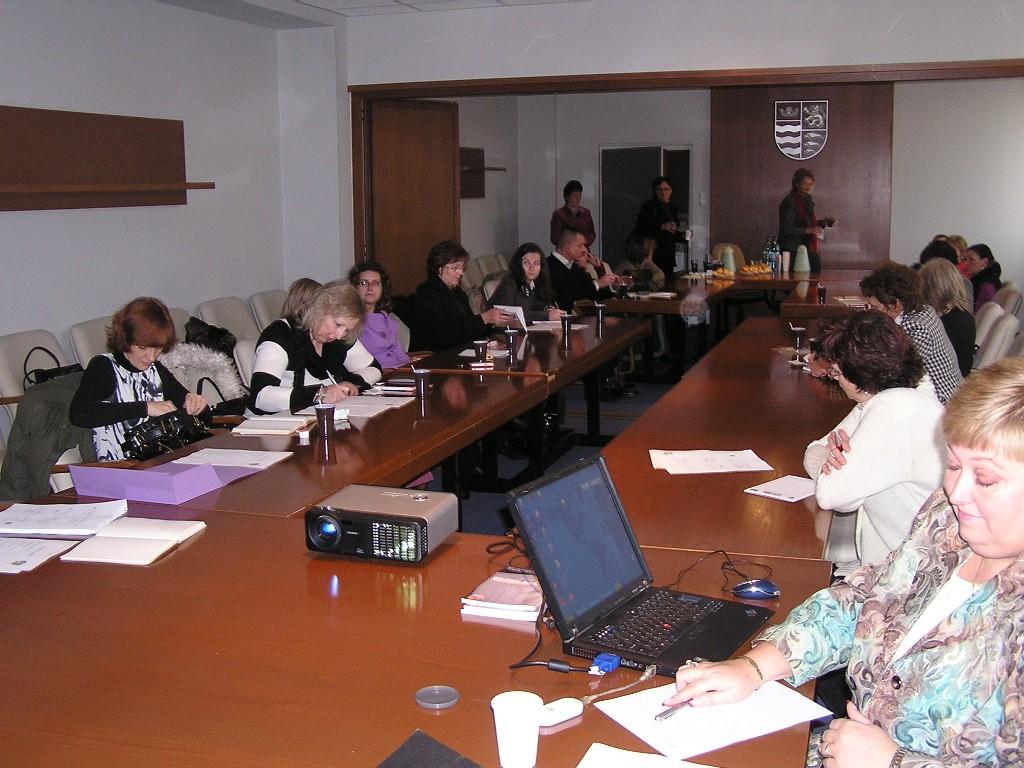 Príprava účastníkov podujatia pred zahájením