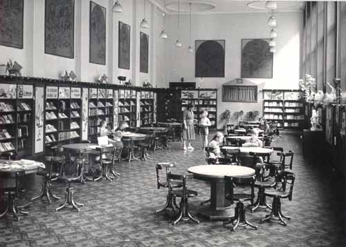 Vybavení dětského oddělení ve 30. letech 20. století