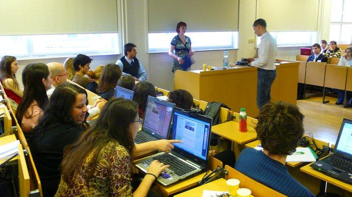 Obrázek 2: Blogeři v akci
