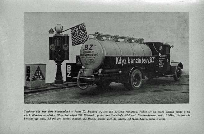 PATERA, Jaroslav. Reklama v prostoru. Praha : Občanská knihtiskárna, 1934, s. 117
