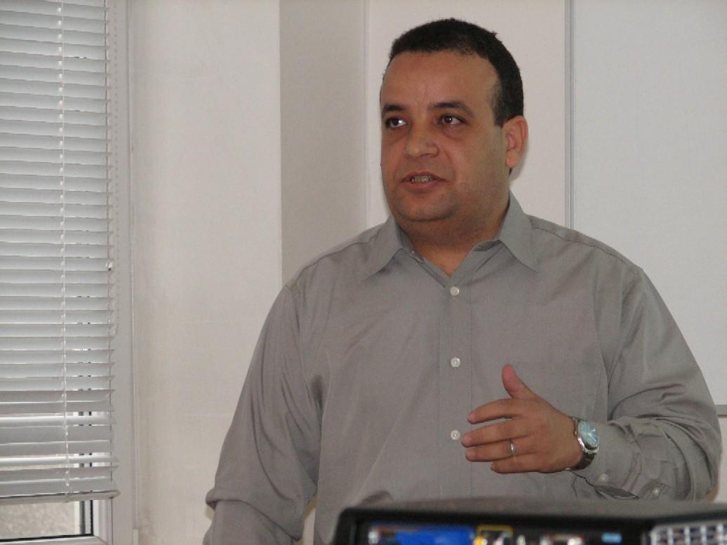 I. Abu El-Khair při výkladu