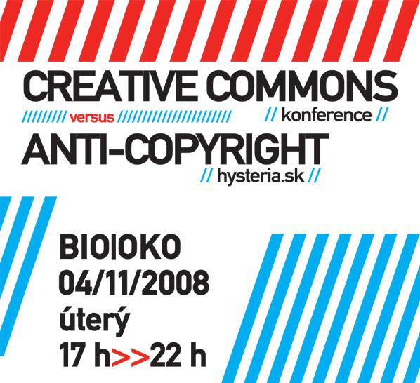 Creative Commons konference a anti-copyright hysteria.sk
