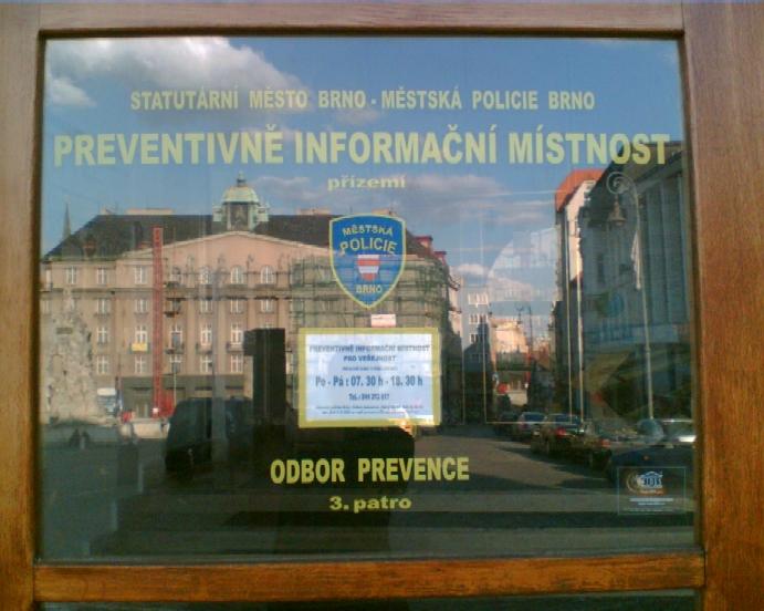 Preventivně informační místnost