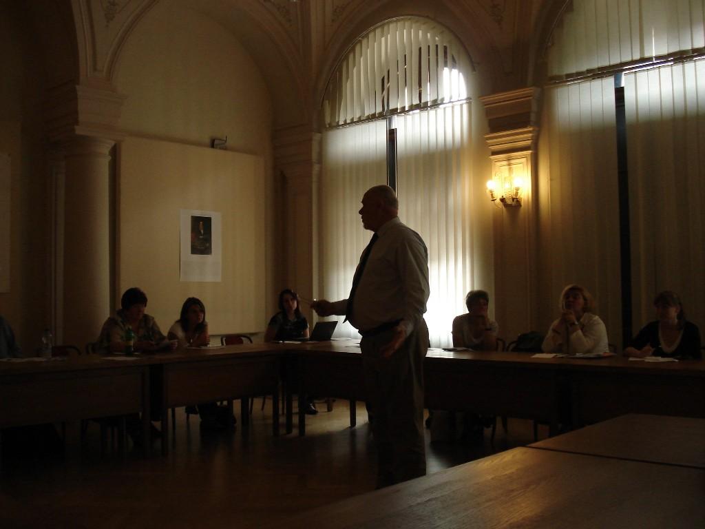 Ralph Catts a účastníci workshopu