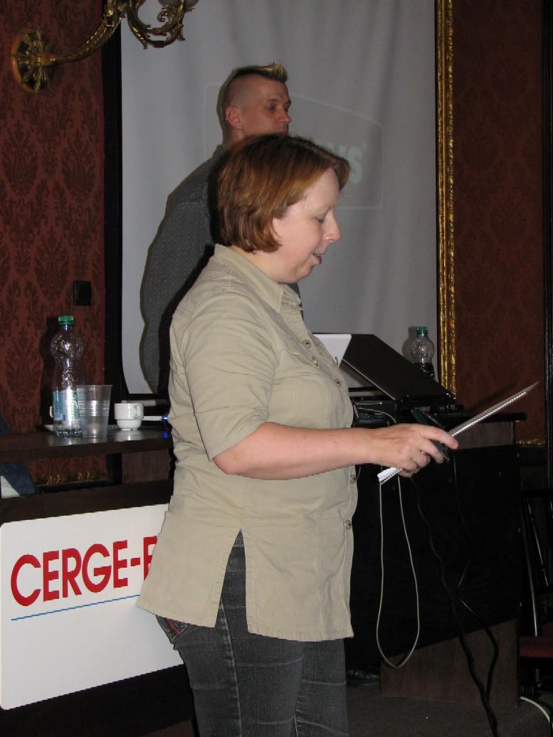 Karen Blakeman shrnuje výsledky diskuse jedné ze skupin