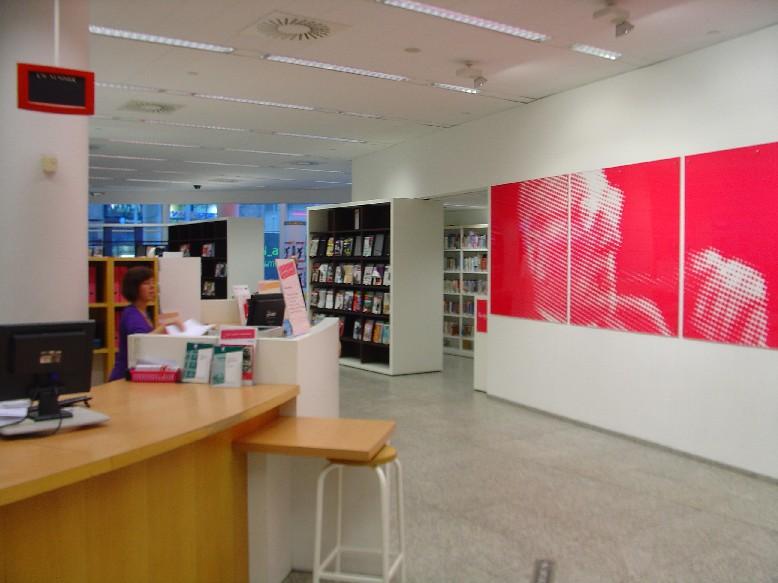 Openbare Bibliotheek Den Haag - infopult