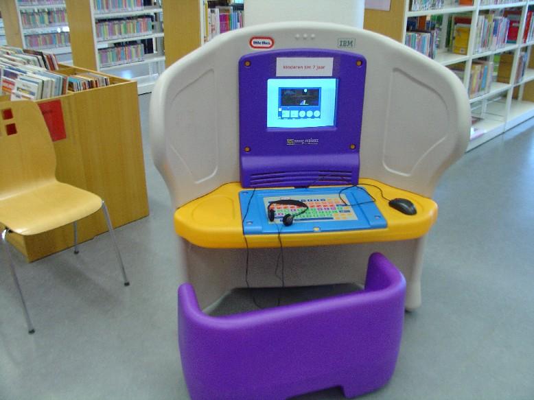Openbare Bibliotheek Den Haag – dětský počítač