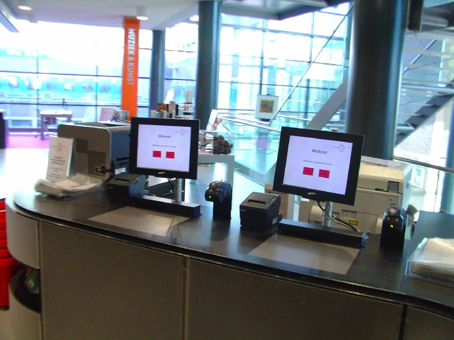 Bibliotheek Heerhugowaard – automaty na půjčování knih