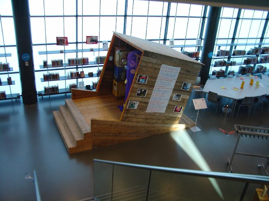 """Bibliotheek Heerhugowaard – """"tajná místnost"""" pro děti"""